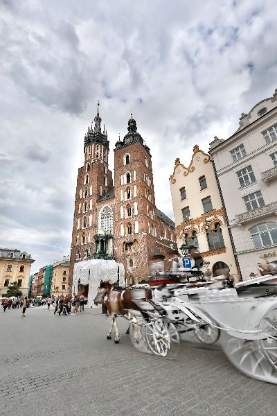 Cracow city tours are very popular